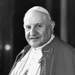 CC3H4D Pope John XXIII (1881-1963) Who Reigned As Pope From 1958.